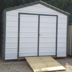 Metal Economy Shed